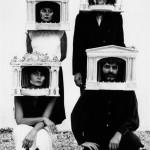 immagine di gruppo in unità maschere teatro Ages 1990