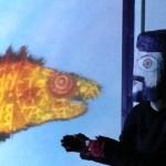 maschera ingigantita autoritratto klee
